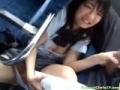 可愛いJKとバス内で相互愛撫してお互い果てる