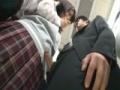 満員電車でJKと密着しているうちにムラムラと・・・