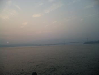 凪の鳴門海峡