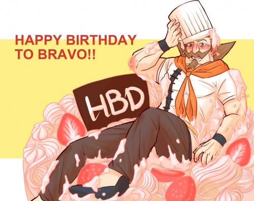 BRAVO生日