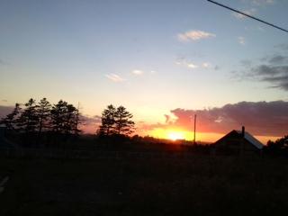 日の入り2
