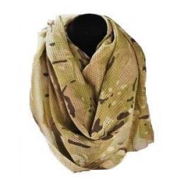 迷彩柄スカーフ