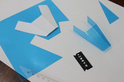 透明折り紙130806