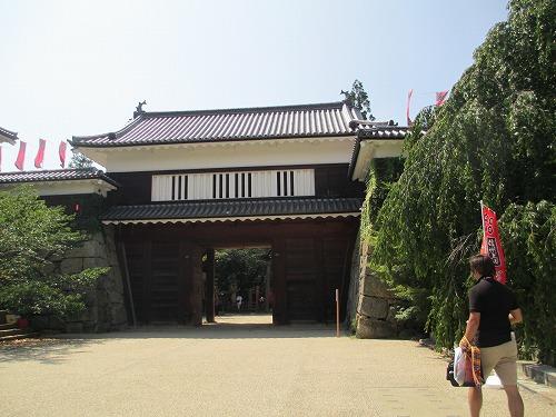 上田城址130814