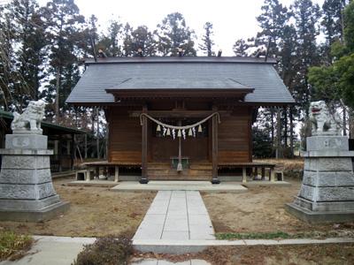 村主神社拝殿