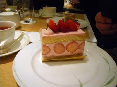Yukiちゃんのイチゴケーキ