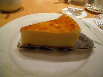 僕はベイクドチーズケーキ