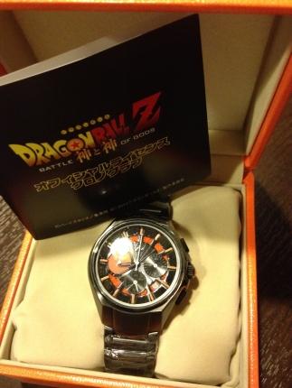 ドラゴンボールの時計きたー