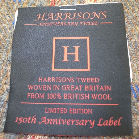 Harrisons of EDINBURGHのANNIVERSARY-TWEEDの織りネーム