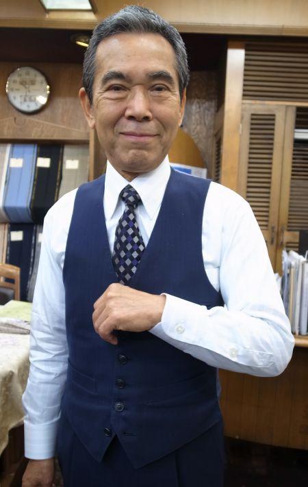 メンズギャラリー福田店長の新しいオーダーワイシャツ