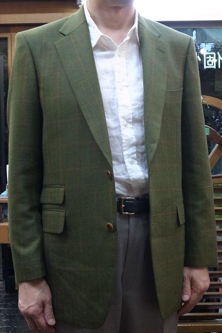 ハリソンズオブエジンバラのMIRAGE(ミラージュ)のオーダージャケット