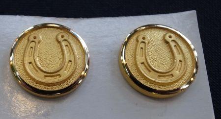 ホーランドシェリー社の蹄鉄のボタン