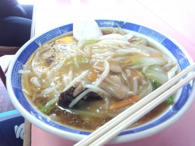 山北駅前食堂サンマー麺