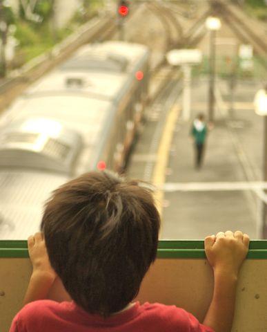 跨線橋からの眺め
