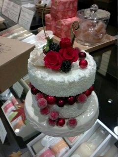 手作りケーキ?