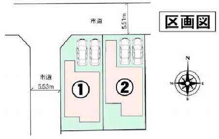 小竹配置図