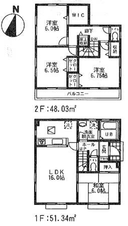 怒田間取図12