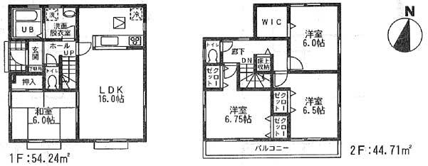 怒田間取図4