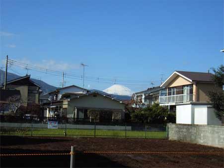 中曽根富士山
