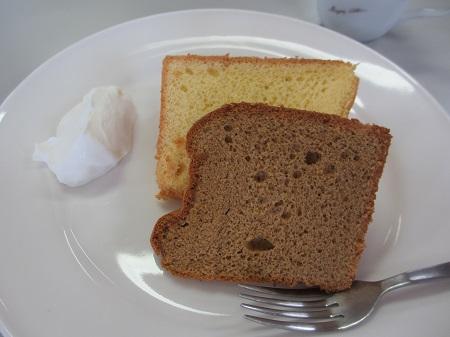 シフォンケーキ2種