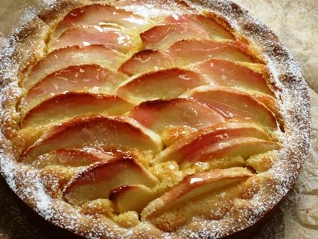 りんごのタルト3