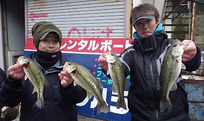 第2戦優勝 篠原 神谷 ペア