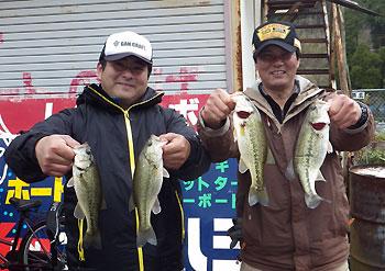 5位 藤目 株柳 ペア
