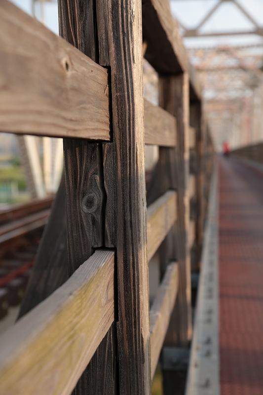 赤川仮橋 木造
