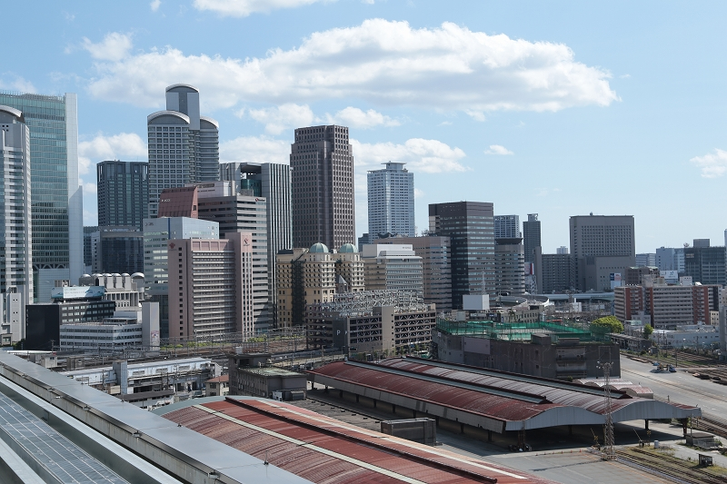 グランフロント大阪からの展望