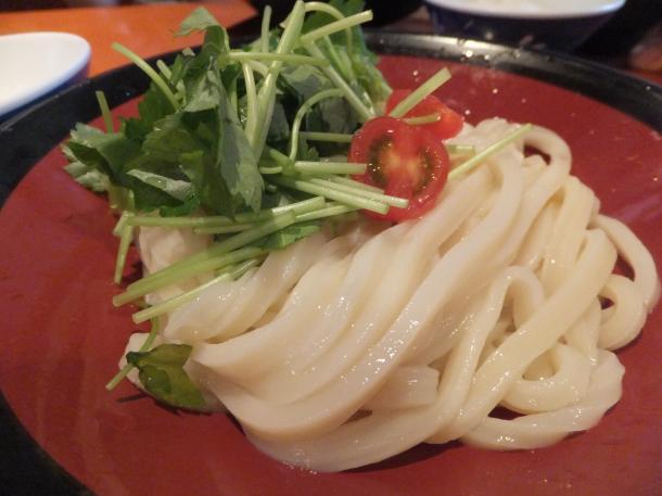 牛筋赤味噌つけ麺(冷)