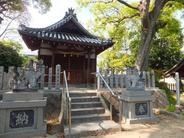 西川八幡神社