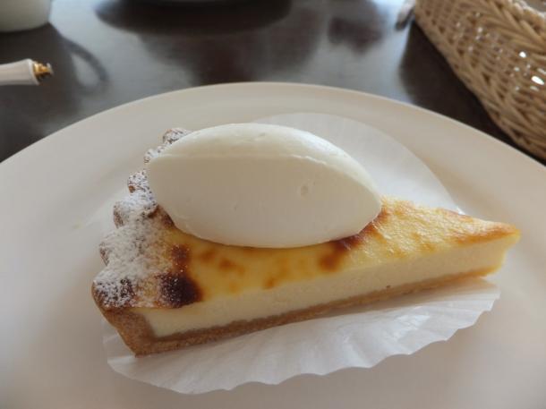 クリームチーズの焼タルト