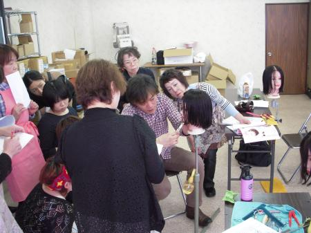 2013 ベーシックカットセミナー 春 富山 #2
