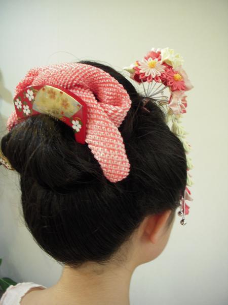 新日本髪 右バック