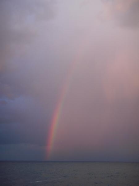 海から伸びる虹#2