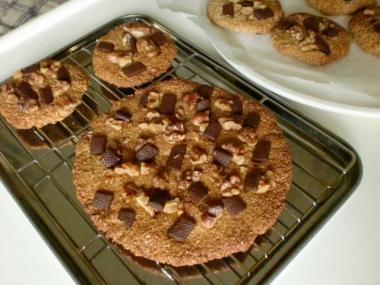 ザクザク全粒粉のアメリカンクッキー