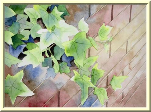 蔦の茂る塀