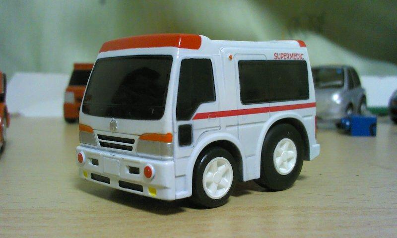 チョロQ スーパーメディック00