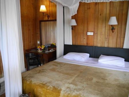 チェンダナホテルの部屋