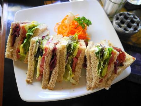 ポーチカフェ サンドイッチ
