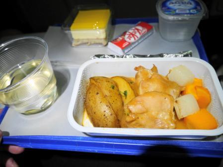 マレーシア航空機内食