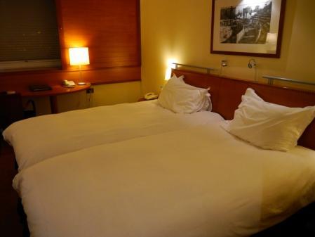 ソフィテルホテルの部屋