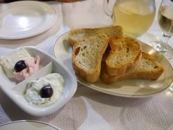 ニコス パンとディップ