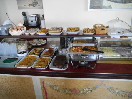 グロッタホテル 朝食ビュッフェ