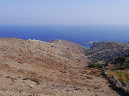 フォレガンドロス 島の北西