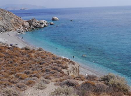 カテルゴビーチの全景