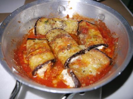 ナス、チーズのオーブン焼き