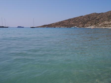 マガナリビーチの海