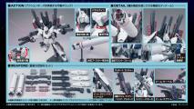 HGUC フルアーマーユニコーンガンダム(ユニコーンモード)のキット解説画像2