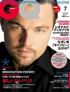 「GQ」7月号